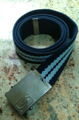 Cinturones. Cinturón de lona.