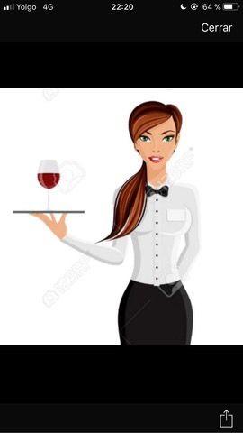 Urge,camarera con experiencia