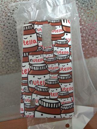 Carcasa móvil Nutella LG nueva
