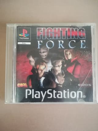 Fighting Force Psx