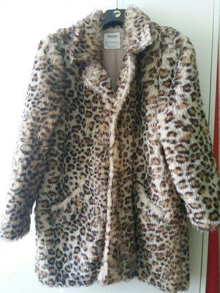 Abrigo print de leopardo