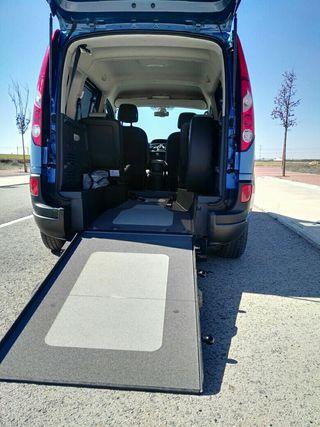 Renault Kangoo 2013 silla de ruedas