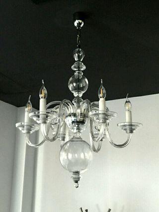 Lámpara de techo de Cristal.Precio Rebajado