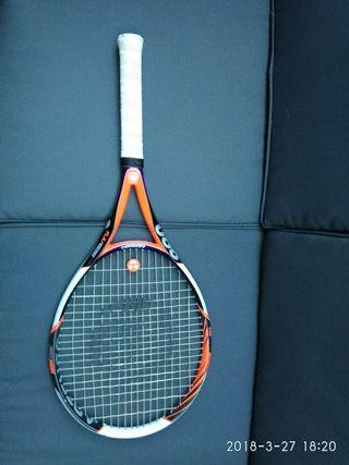raqueta tenis artengo 890 flax fiber
