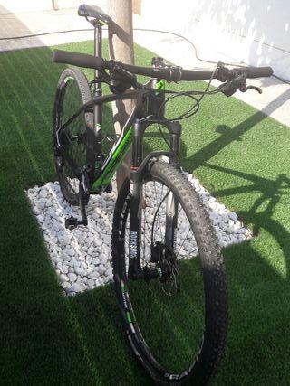 bicicleta de montaña de carbono, 29 pulgadas