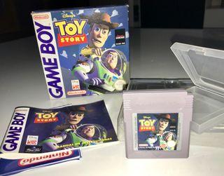 Juego TOY STORY para Game Boy