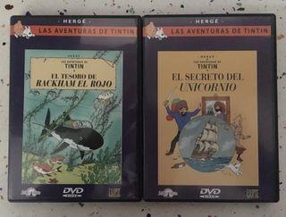 Tintin DVD peliculas