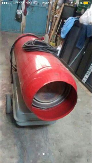 cañon calor diesel y electrico
