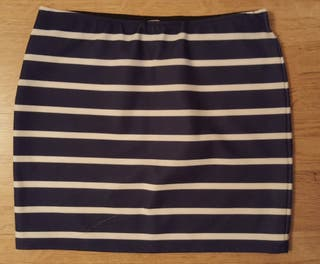Minifalda marinera