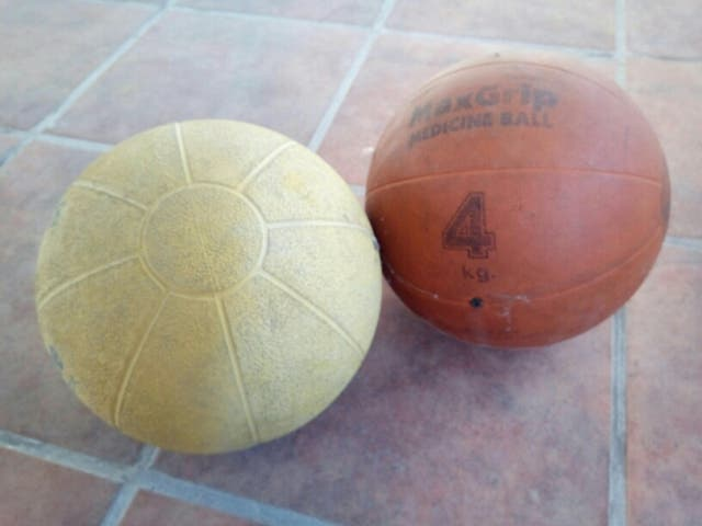 Balon medicinal 4 kg de segunda mano por 15 € en Zaratán en WALLAPOP c302c84df4af