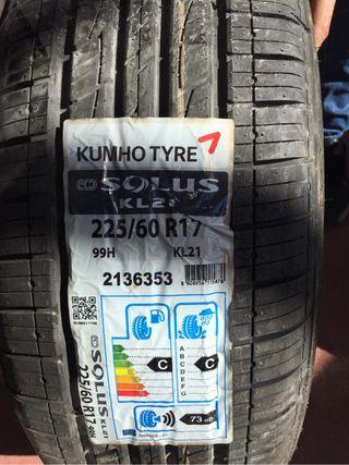 1 Neumático 225 60 17 99h kumho tyre solus kl21