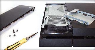 Cambio disco duro ps4