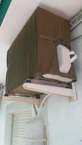 Funda para aire acondicionado(maq.exterior)