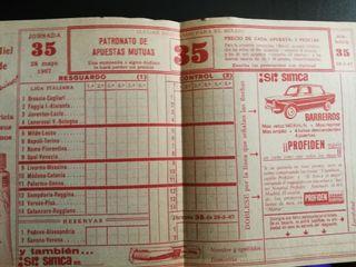 Apuestas Deportivas del año 1967