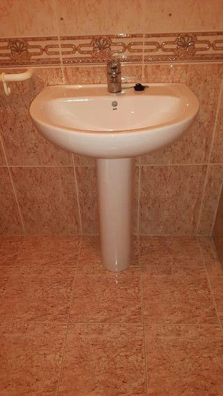 pilas lavabo Roca completas