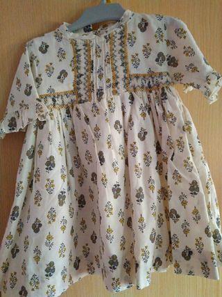 vestido 12-18 meses niña