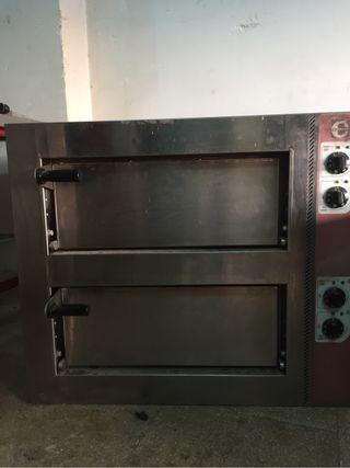 Horno de pizzas industrial