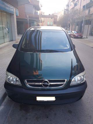 Opel Zafira 2004, gasolina-CNG,(gas) matricula ext