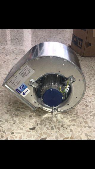 Turbina extractor motor campan