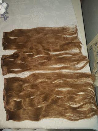 extension de pelo Natural como nuevas con clip