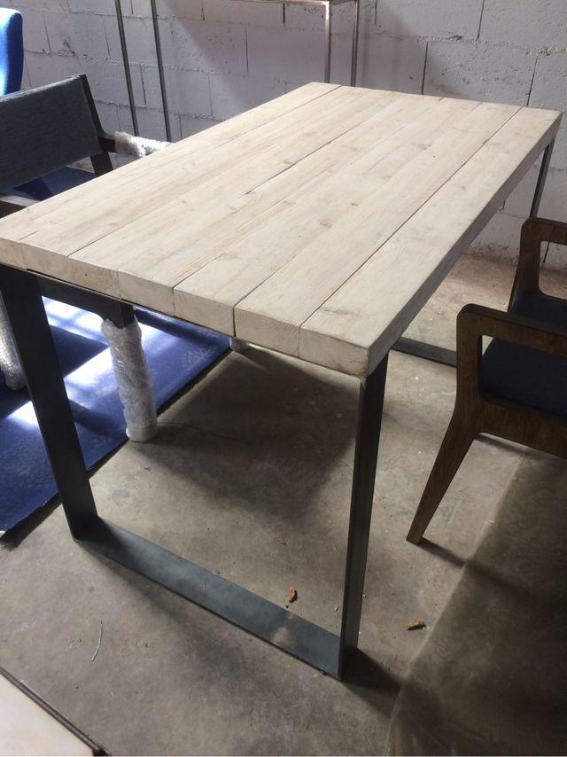 Mesa cocina estilo industrial de segunda mano por 235 € en Alcalá de ...