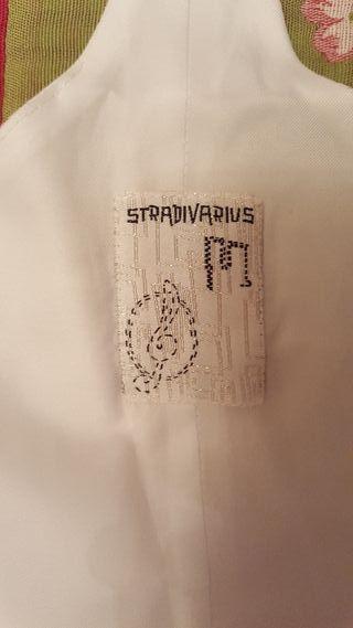chaleco blanco vestir Stradivarius