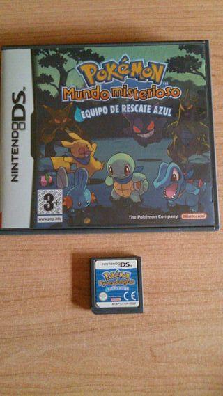 Pokemon Mundo Misterioso. Nintendo DS
