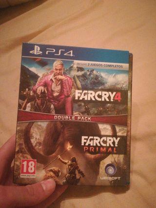 FARCRY 4 + FARCRY PRIMAL PARA PS4