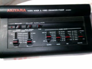 mezclador akiyama audio video