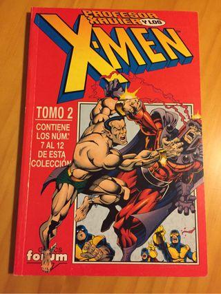 El Profesor Xavier y los X-Men