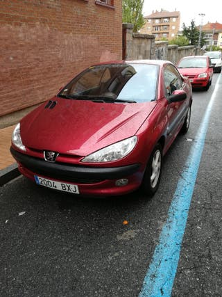Peugeot 206 2002 cc descapotable 1,6 110cv