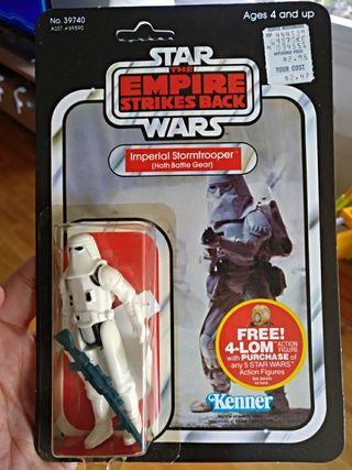 star wars vintage snowtrooper moc
