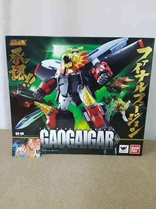 SOUL OF CHOGOKIN GX-68 GAOGAIGAR REEDICION ,BANDAI