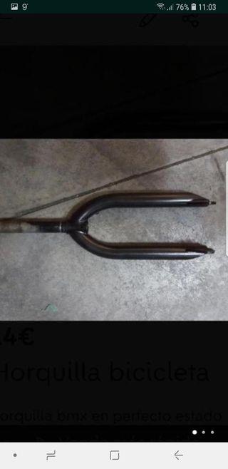 Horquilla bicicleta