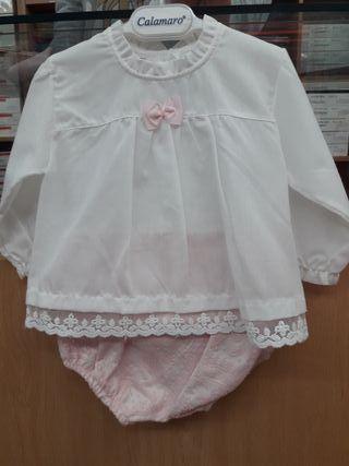 Conjunto y vestido (6m)
