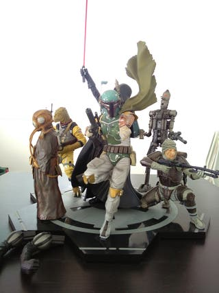 Star Wars Figuras Kotobukiya lote cazarrecompensas