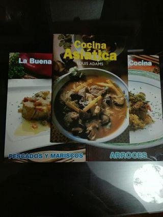 Libritos de cocina