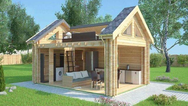 Minicasas de segunda mano por en la canonja en wallapop - Mini casas de madera ...