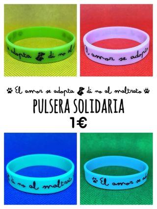 Pulsera Animalista Solidaria. Perros y Gatos Calle