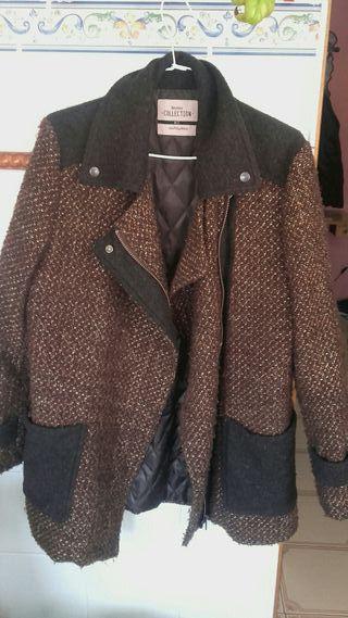 Chaqueta abrigo stradivarius