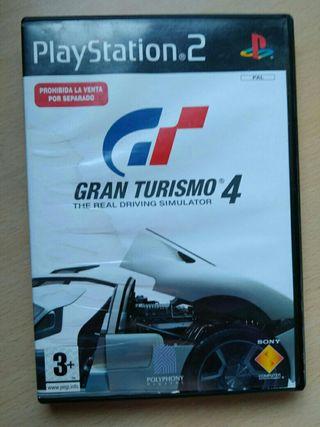 Juego ps2 Gran Turismo 4