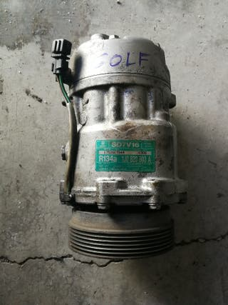 compresor aire acondicionado vw golf 4