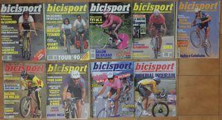 Revistas Bicisport Ciclismo a Fondo años 80 y 90