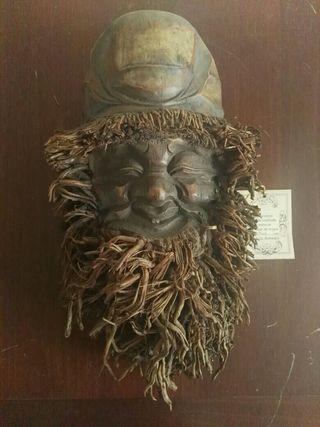 Máscara de bambú