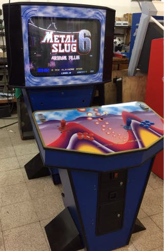 Maquina recreativa videojuegos