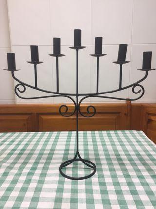 Candelabro de hierro 7 velas