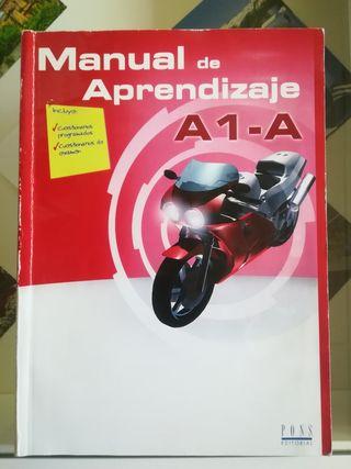 Libro permiso A1 y A. Motocicleta.