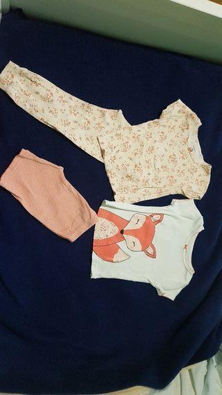 pijamas niña talla 3