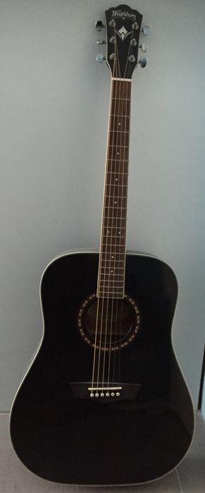 Guitarra acústica WASHBURN WD10SB. Prácticamente n