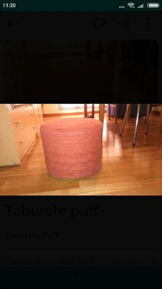 Taburete puff